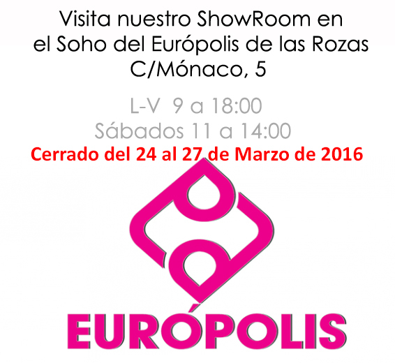 Horario Showroom