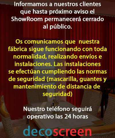 Cierre Temporal ShowRoom