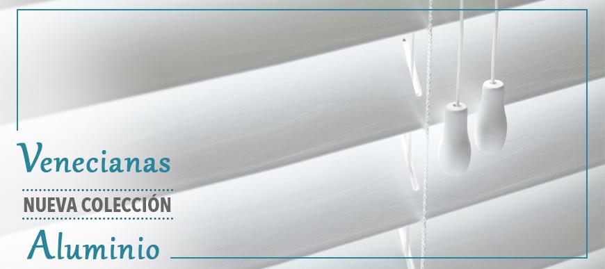 Nueva colección de Venecianas de Aluminio